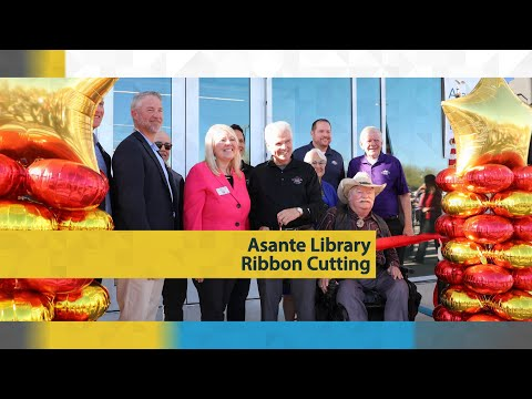 Asante Library Ribbon Cutting video thumbnail