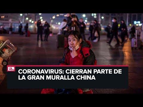 Cierran parte de la Gran Muralla China por coronavirus