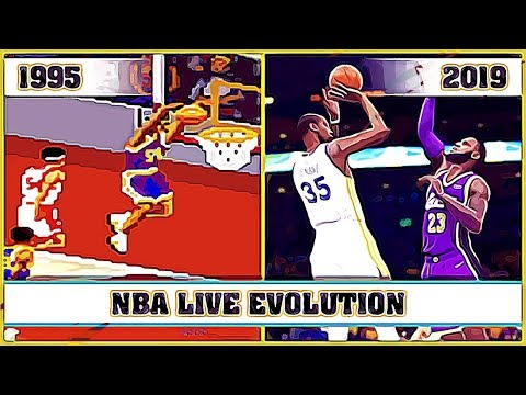 NBA LIVE Evolution [1995 - 2019]