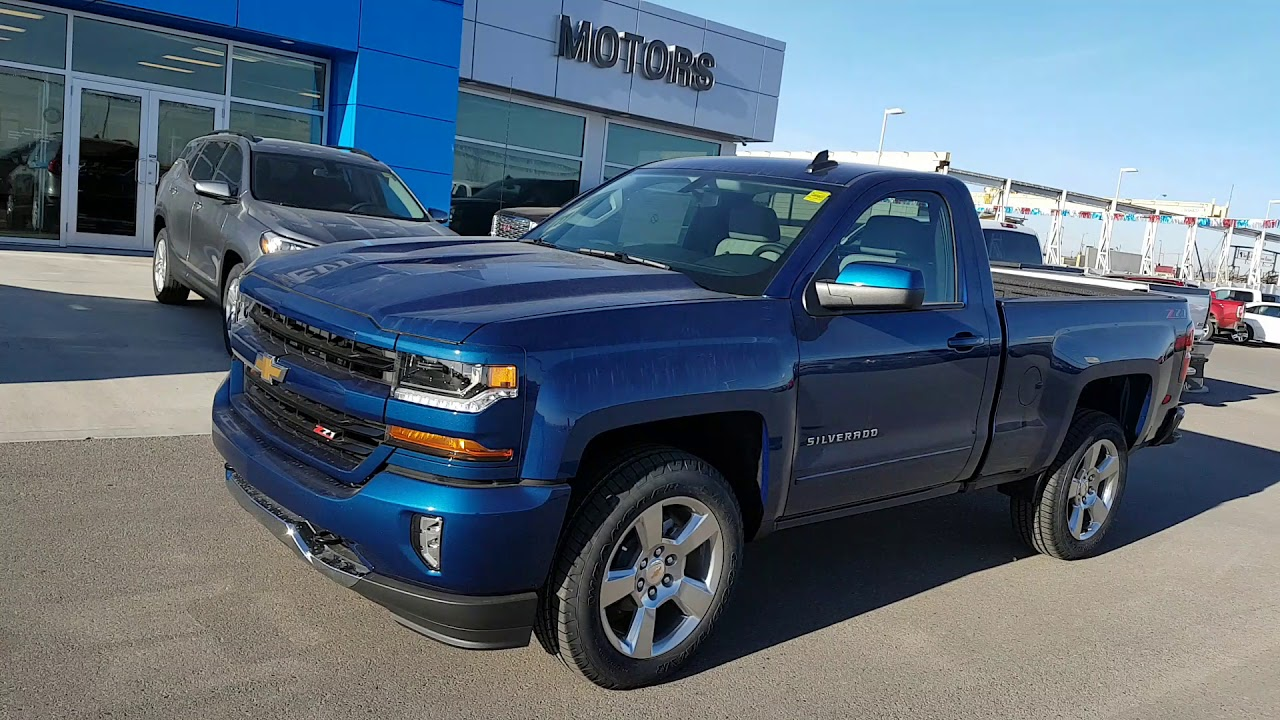 2018 Chevrolet Silverado 1500 LT 4x4 regular cab short box- 188449