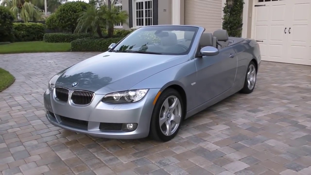 2009 Bmw 328i Convertible Review And Test Drive By Bill Auto Europa Naples