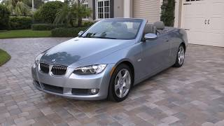 2009 BMW 328i Convertible Review and Test Drive by Bill - Auto Europa Naples