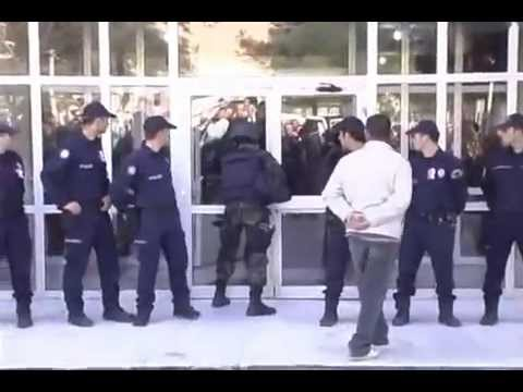 Turkish Police Vs Door Epic Fail Youtube