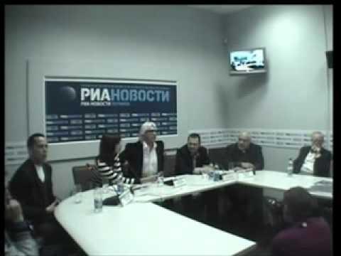 Hvorostovsky - Press Conference in Ukraina, January 2010