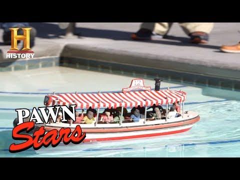 Pawn Stars: Mini Disneyland Jungle Cruise Boat Replica (Season 15)   History