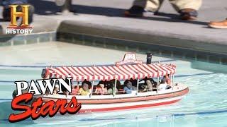 Pawn Stars: Mini Disneyland Jungle Cruise Boat Replica (Season 15) | History