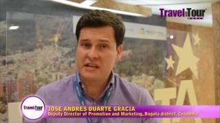 Jose Andres Duarte Garcia talks about tourism in Bogota at ITB Berlin 2017