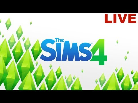 Sims 4.  PC. LIVE [With face cam]| Dream world