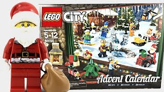 LEGO City Advent Calendar 2017 review and unboxing! 60155!