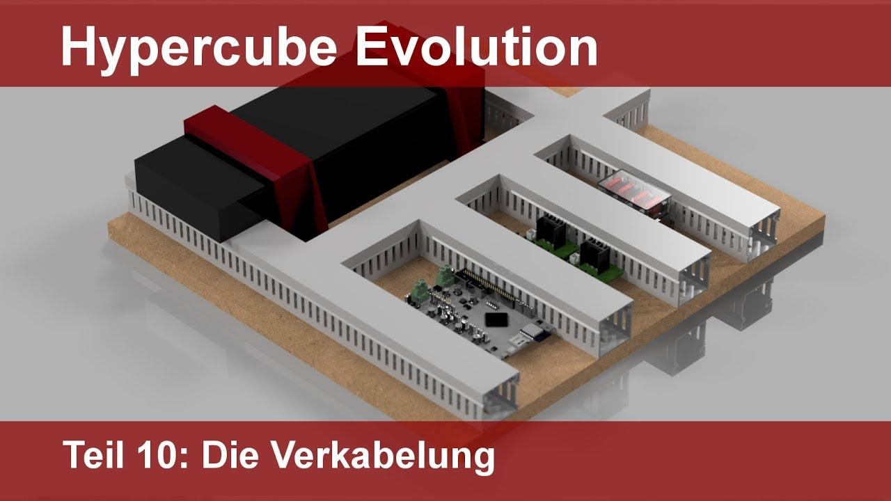 Hypercube Evolution Tutorial Teil 10 Die Verkabelung (German ...