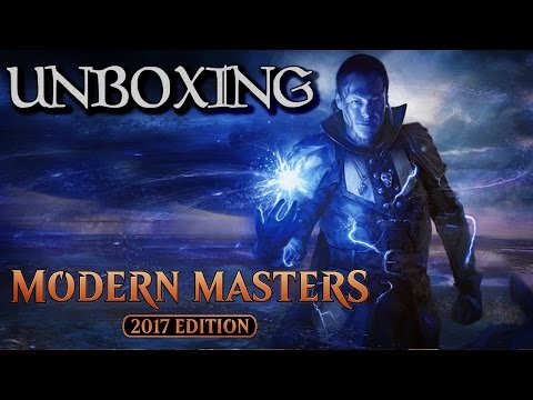 Unboxing - Modern Masters 2017