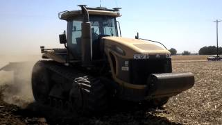 MT865C plowing in LeGrand, Ca with Double G Farms