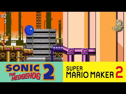 Super Mario Maker 2: Sonic the Hedgehog: Oil Ocean Zone Showcase