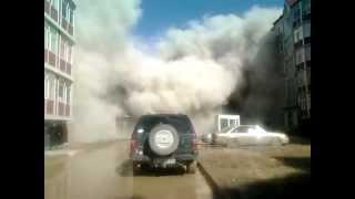 Обрушение дома в Караганде (2012)(, 2012-04-07T06:37:22.000Z)