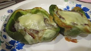 Easy Cheesesteak Stuffed Peppers - Casual Recipe Vlog!