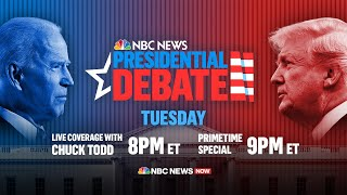 First Presidential Debate Of 2020 Election | NBC News NOW