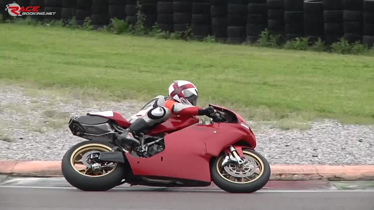 Ducati 999 On Track Onboard Lap Youtube