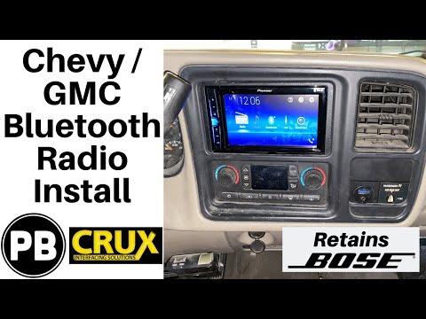 1995 – 2006 Chevy / GMC Stereo Install