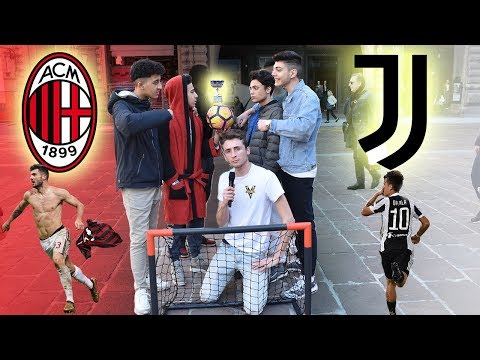 Juventus VS Milan - BOTTA E RISPOSTA Tra Tifosi ● JUVENTINO vs MILANISTA e INTERISTA
