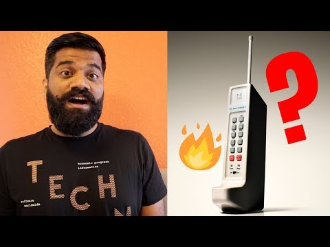 World's First Mobile Phone - 3995$ Only Motorola DynaTAC 🔥🔥🔥