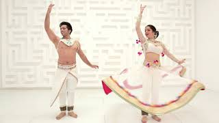 Tera Chehra | KATHAK Fusion | Kumar Sharma & Svetlana Tulasi