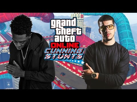 GTA 5  CUNNING STUNTS DLC w/ DESIIGNER!! (GTA 5 DLC Gameplay)