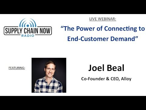 "Supply Chain Now Radio: ""The Power of Connecting to End-Customer Demand"""