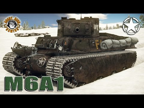War Thunder: M6A1, American, Tier-3 Heavy Tank