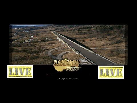 (ETS2 v 1.32) #SLOVAKIA MAP Live