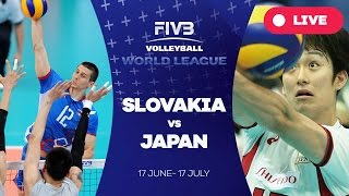 Slovakia v Japan - Group 2: 2016 FIVB Volleyball World League