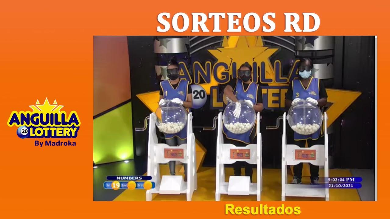 Anguilla Lottery / Jueves 21 de octubre 2021