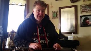 Bob Knight demoing the Duesenberg Fairytale Lap Steel