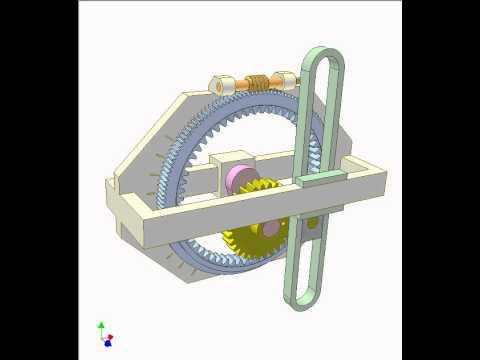 Davis steering mechanism animation