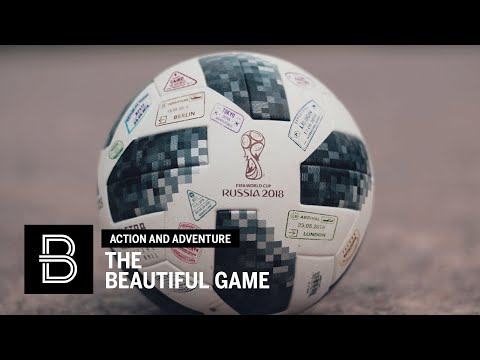 The Beautiful Game: 14 Days, 14 Countries, 4 Champions, Millions of , 1 Ball World Cup 2018