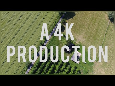 Flying above the fields | A 4K Production