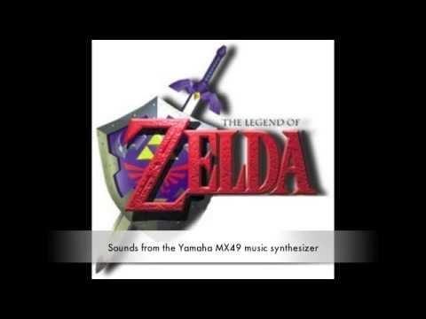 Zelda Orchestral Remix Yamaha MX49 music synthesizer