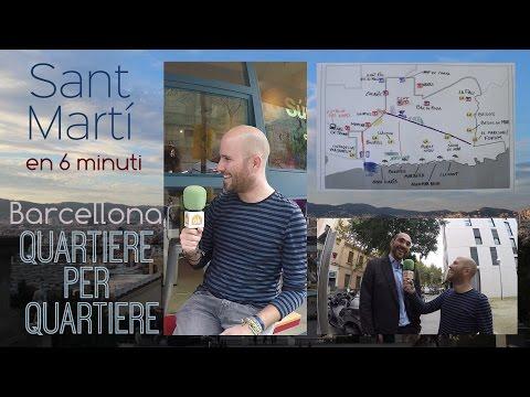 Sant Martí en 6 minuti - Barcellona Quartiere per Quartiere