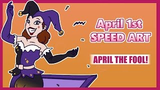 SPEED ART: April The Fool