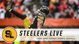 Watt's dominant performance, Chalk Talk on Steelers Live | Pittsburgh Steelers