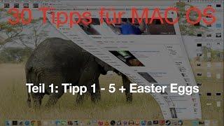 30 Tipps für Mac OS X Einsteiger