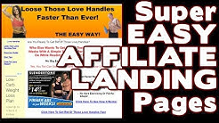 How To Make A Landing Page For Affiliate Programs