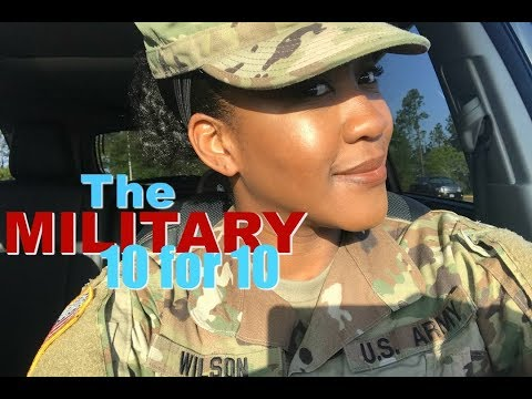 Military 10 For 10 : Eps.#9  MILITARY HAIRSTYLES FOR WOMAN +  EXAMPLES FOR NATURAL HAIR
