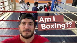 Boxing with Gor Yeritsyan 12 Rounds Yerevan