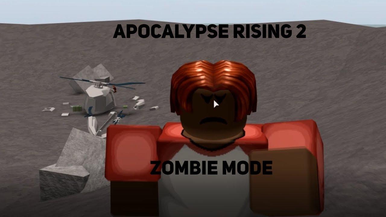 Apocalypse Rising Roblox Zombies Apocalypse Rising 2 Zombie Mode Youtube