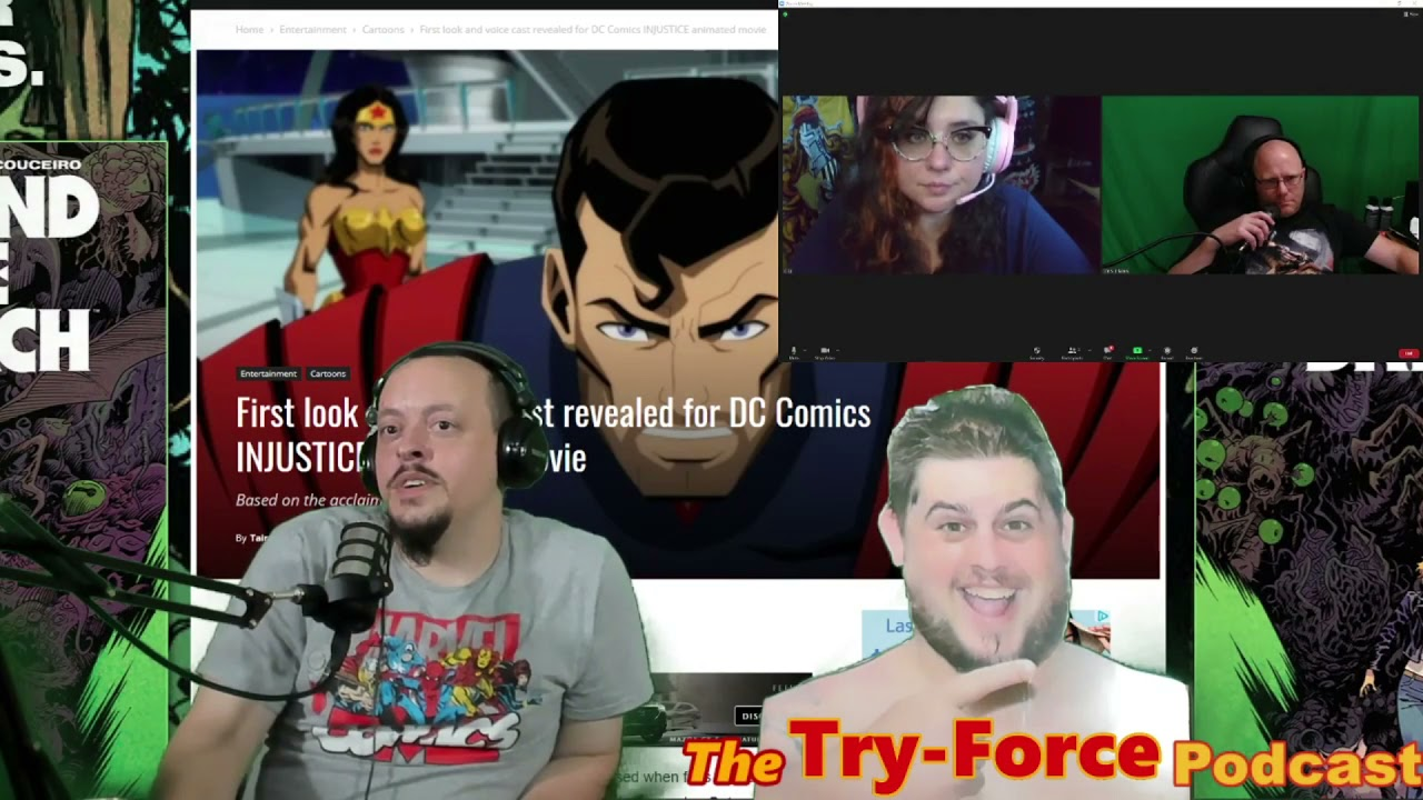 #238 Try-Force Podcast: From Director's Cut To DM'S