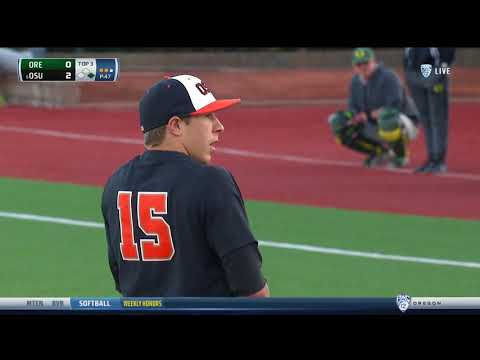 Oregon State Baseball Highlights: 4/19/18 vs. Oregon