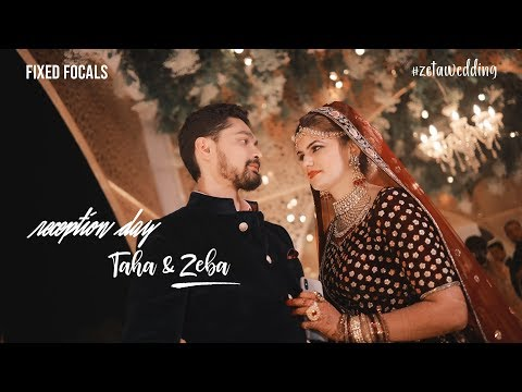 TAHA & ZEBA ReceptionTeaser #ZETA WEDDING