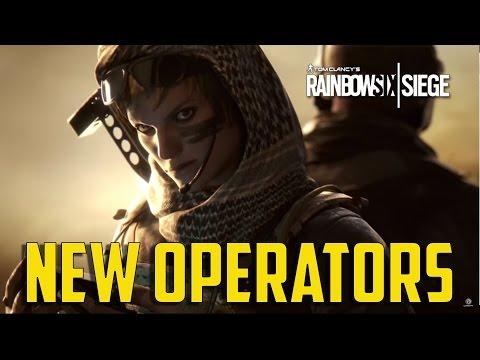 Tom Clancy's Rainbow Six Siege - New Operators  