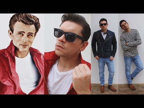 James Dean | Hairstyle and Clothing