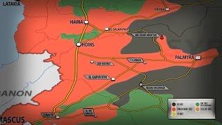 7 апреля 2017. Военная обстановка в Сирии. США нанесли удар крылатыми ракетами. Русский перевод.